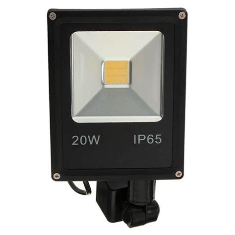 Kap Led Winglock 20w Ip65 20w pir motion sensor led flood light ip65 warm koud wit