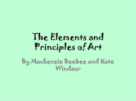 Ballard Design Code the elements and principles of art