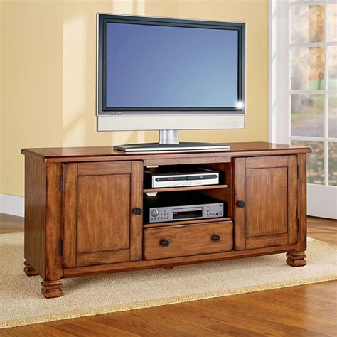 rustic 54 quot tv stand media entertainment center console