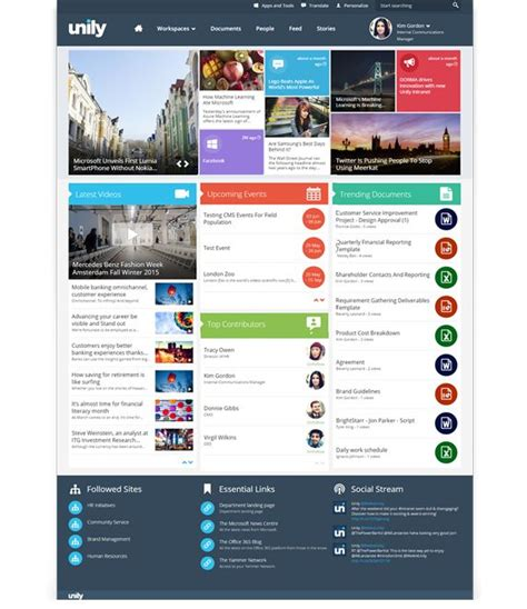 25 best ideas about intranet design on pinterest design