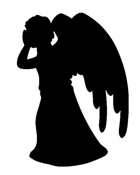 Angel Silhouette Clip Art   Cliparts.co