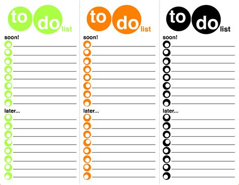 7 to do template bookletemplate org