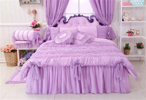 twin size comforter size aliexpress com buy luxury lavender lace comforter sets