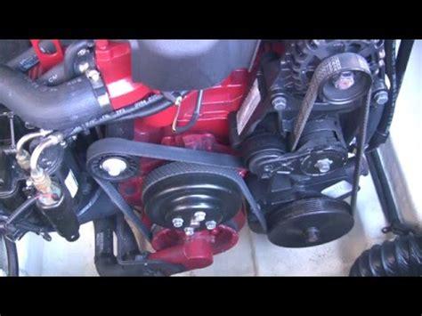 volvo penta gxi raw water pump removal  rebuild youtube