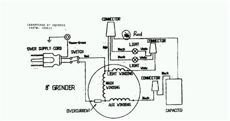 bench grinder wiring diagram bench grinder diagram www pixshark images