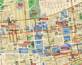 tourist map of canada montreal map tourist attractions travel map