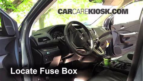 interior fuse box location: 2012 2016 honda cr v 2012