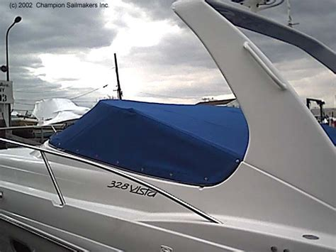 boat windshield angle over w s mooring cover