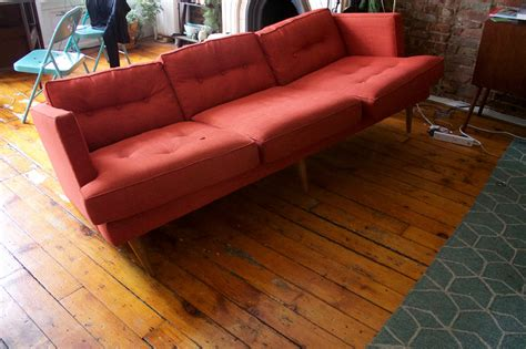 west elm sofa reviews west elm s couch from hell update couch from hell goes
