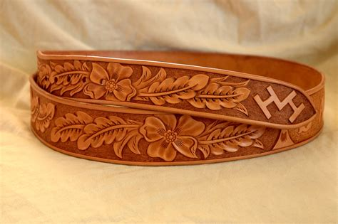 handmade western leather belt patterns lone tree leather