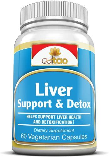 B Vitamins Detox by Premium Liver Support Detox Cleanse Supplements W Milk