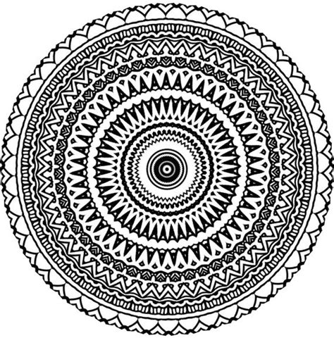 zentangle mandala coloring pages aztec mandala zentangle doodle drawing by kathyahrens