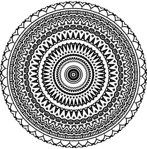 doodle circular pattern design aztec mandala zentangle doodle drawing by kathyahrens