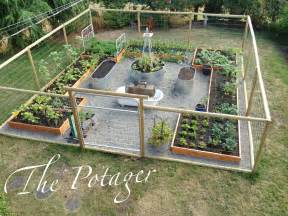 house and bloom diy vegetable garden