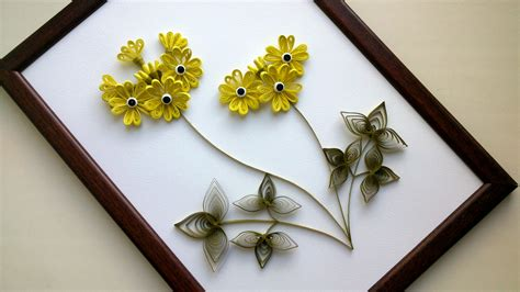 diy home decor with paper quilling diy room decor