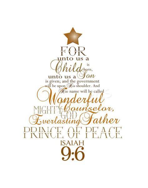 isaiah 9 6 christmas christ centered pinterest