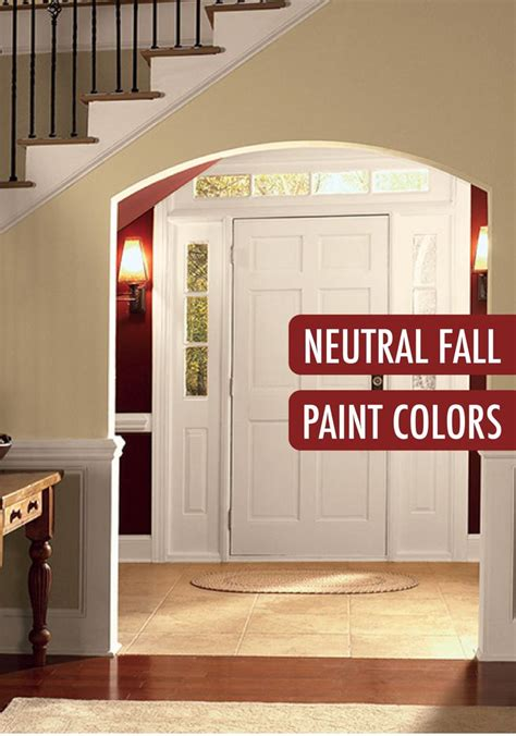 this entryway make your foyer with a neutral color palette from behr paint these