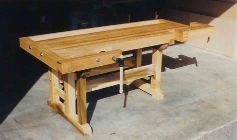 wood working work bench fine woodworking workbench woodworker magazine