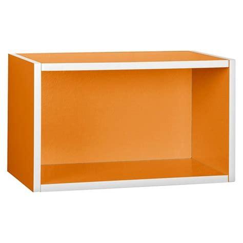 Orange Wall Shelf by Wall Rectangle Shelf Orange Target