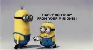 Minion Happy Birthday Wishes Minion Birthday Wishes Just Because Pinterest