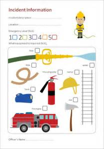 fire station role play incident form eyfs ks1 free