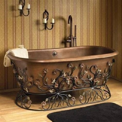 Vintage Copper Bathtub Home Design Garden