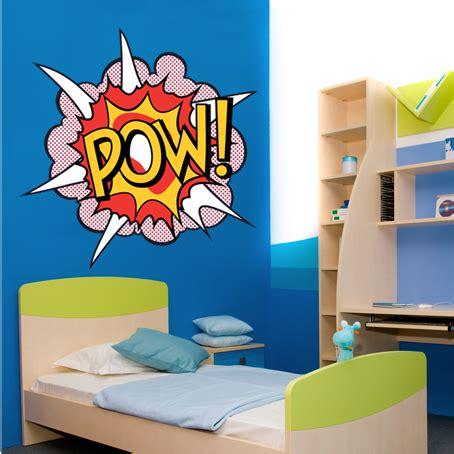 pow wall stickers wallstickers folies pow wall stickers