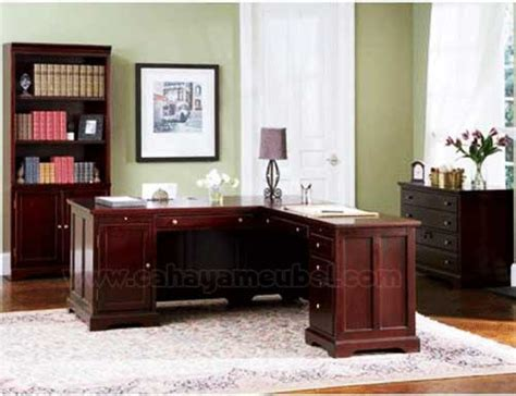 Meja Kantor Sudut meja kantor minimalis sudut jual set meja kantor kayu