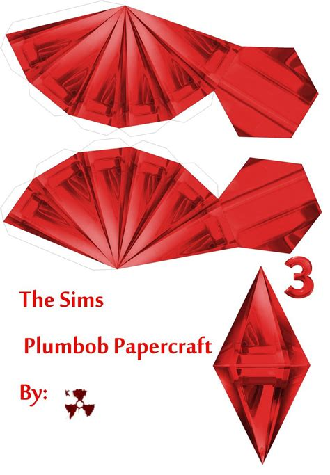 the sims red plumbob by killero94 on deviantart