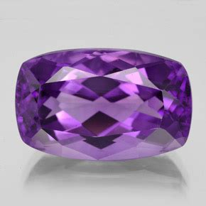 Violet Zircon 10 15 Ct 15 4 carat cushion 19 1x12 2mm and untreated