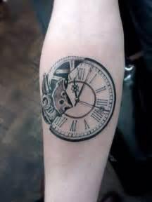 broken time piece tattoo tick tock pinterest
