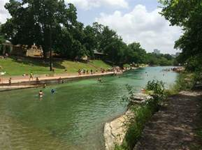 Barton Springs Barton Springs Pool In Zilker Park Free In