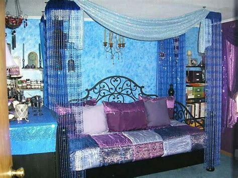 junk gypsy bedroom blues and purples my bo ho hippie hut pinterest junk