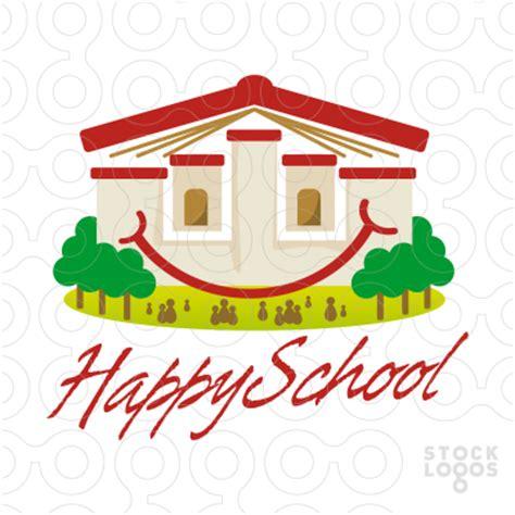 exclusive customizable logo for sale: happy school