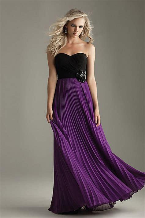kleid violett