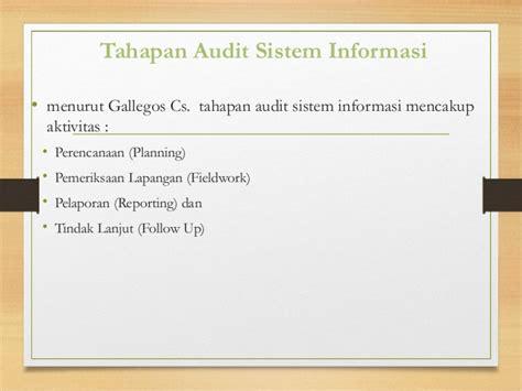 kontrol dan audit sistem informasi