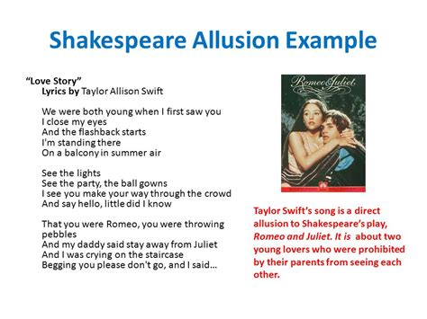 allusion exles in romeo and juliet www pixshark com