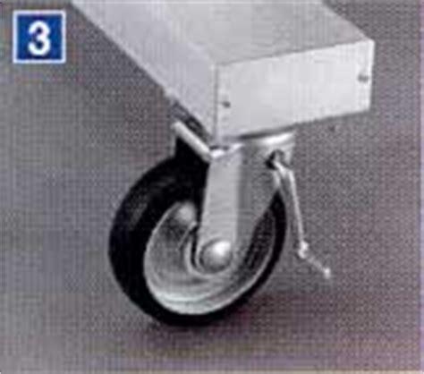 M380a 組立式高所作業台 長尺型 m380a 240ah