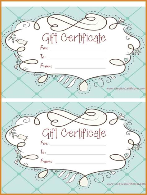 Gift Certificate Letter Template gift certificates templates notary letter