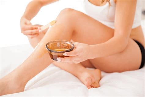 waxing at home hair removal on your own womens