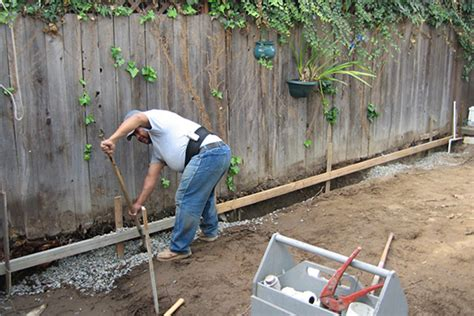 installing a french drain in backyard how to install a french drain french drain installation