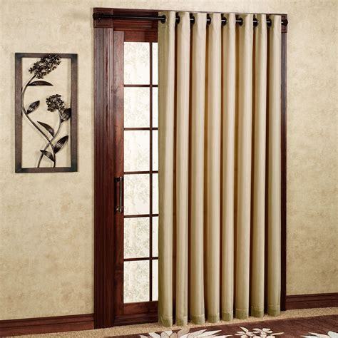 wide curtain panel rhapsody thermavoile tm grommet curtain panels