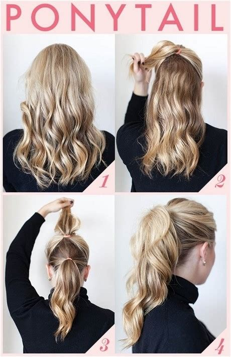 Easy And Fast Hairstyles by Fast And Easy Hairstyles