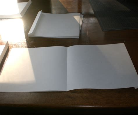 How To Make A Booklet Out Of Paper - how to make an accordion book