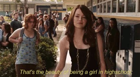 emma stone high school emma stone olive penderghast gif find share on giphy