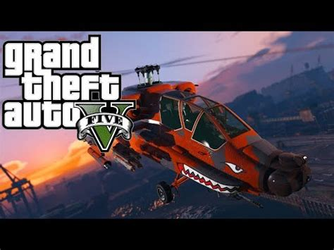 grinding money for the hunter attack helicopter! gta 5