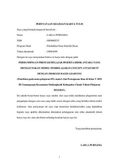 contoh surat pernyataan keaslian penelitian 28 images jasa
