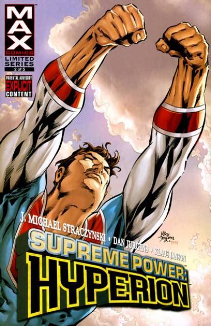 supreme power supreme power hyperion volume comic vine