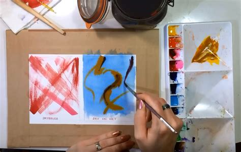 7 Painting Techniques by 7 Must Watercolor Techniques For Beginners
