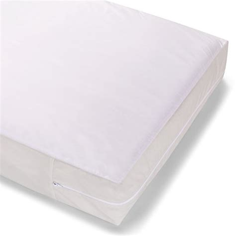 Zippered Crib Mattress Cover Summer Infant Zippered Crib Mattress Protector White